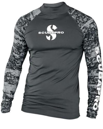 Scubapro Graphite Rg Ls Mn Upf50 2Xl