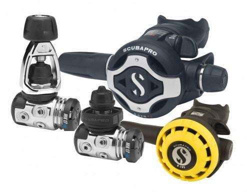 Scubapro MK17 Evo / S620Ti / R195 Octopus Automatenset