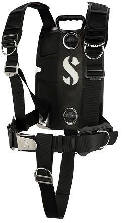 Scubapro S-Tek Pro Harness + Aluminum Backplate