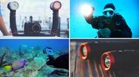Sealife Sea Dragon 2500 Flat Panel LED UW Photo-Video light kit-3