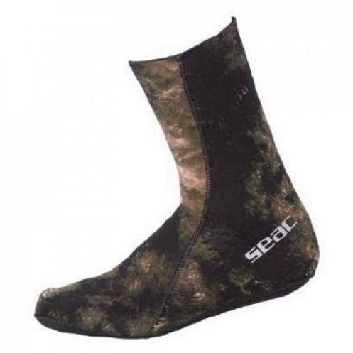 Seac Anatomic Camo Brown Socks 3,5 S