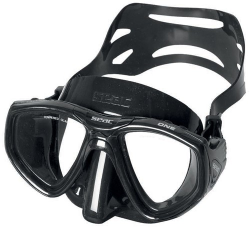 Seac Mask One S/Bl Black