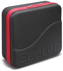 Sealife EVA Case Large (Black with Red Zipper)