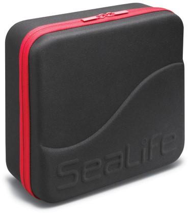 Sealife EVA Case Large (Black with Red Zipper)