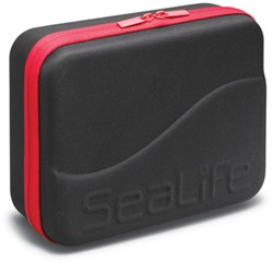 Sealife EVA Case Small (Black with Red Zipper)