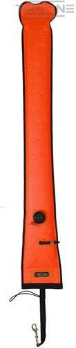 Tecline Semi-Gesloten Boei 15 / 183cm Met Ontluchtingsventiel Oranje