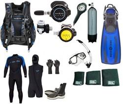 Aqualung Complete divegear kit Super Fancy