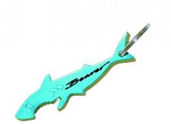 Beaver Shark Bottle Opener Keyring