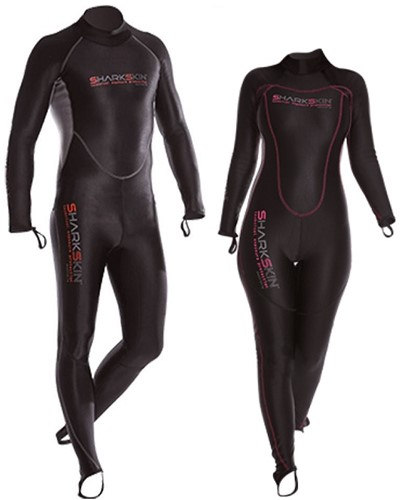 Sharkskin Chillproof Suit Back Zip