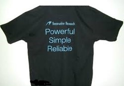"Shearwater T-Shirt ""Powerful, Simple, Reliable"""