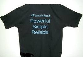 Shearwater T-Shirt Powerful, Simple, Reliable""""""""