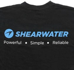 "Shearwater T-Shirt """"Powerful, Simple, Reliable"""" (S,M,L,Xl & Xxl)"