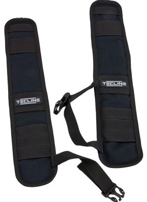 Tecline Shoulders for harness TecLine Comfort - black