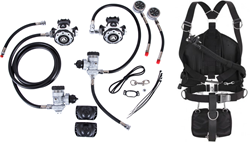 Apeks MTX-R & WSX-25 Sidemount system