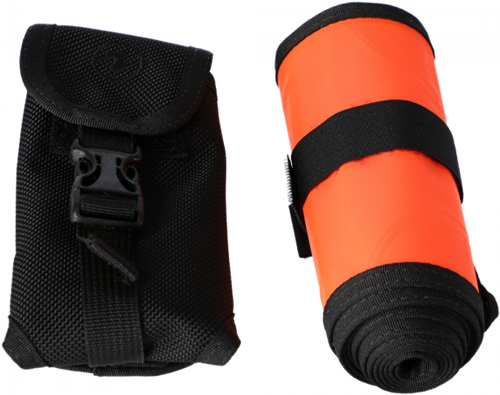 Aqualung SMB Orange Packaged with Pouch