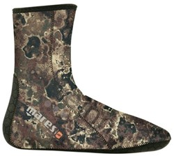 Mares Sock Camo Brown 30
