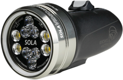 Light & Motion Sola Video 2500 S/F Black