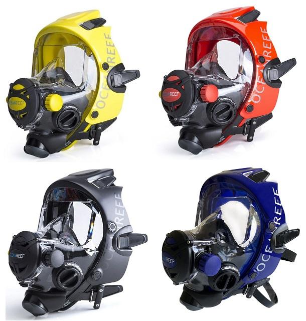 Ocean Reef Space Extender Volgelaatsmasker