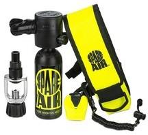 Spare Air CE kit 170 Black (met manometer)