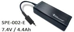 Thermalution 7.4V /4.4Ah Lithium battery*2pcs(1 prong) SPE-002-E