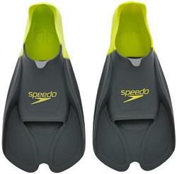 Speedo Training Fin Gre Grey/Lime