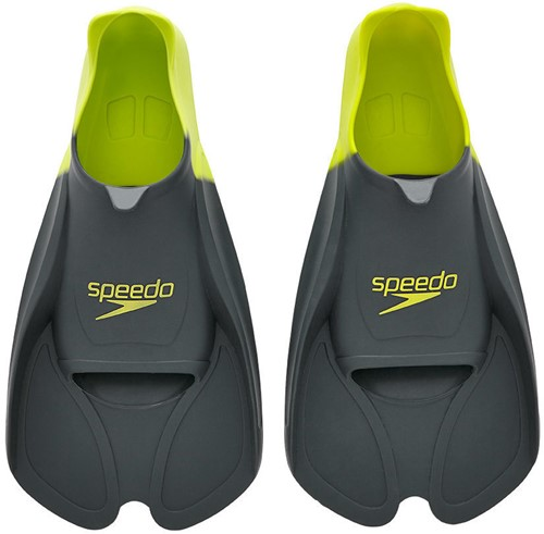 Speedo Training Fin Gre Grey/Lime