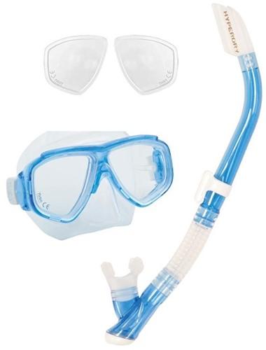 Tusa Splendive Snorkelling Set With Minus Optical Lenses
