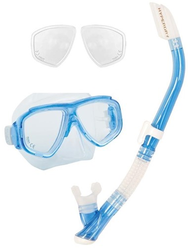 Tusa Splendive Snorkelling Set With Plus Optical Lenses