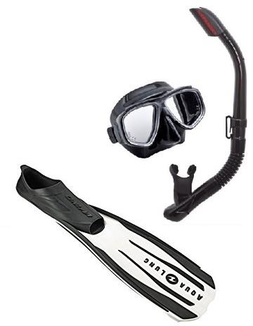 Tusa Splendive Ii Wind Snorkelling Set