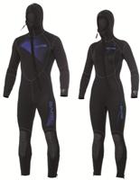 Bare 7mm duikpak Sport Hooded Full-1