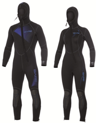 Bare 7mm duikpak Sport Hooded Full