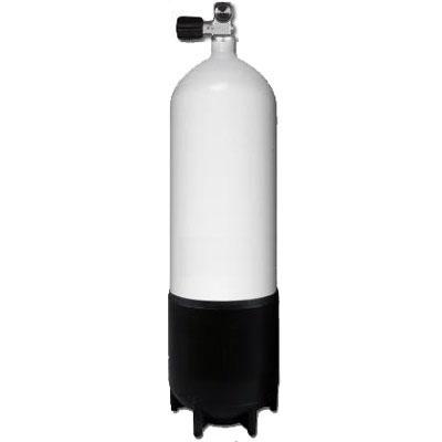 Stalen Duikfles 10 Liter Enkel 232 Bar