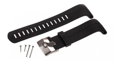 Suunto DX Zwart Elastomer Strap Kit
