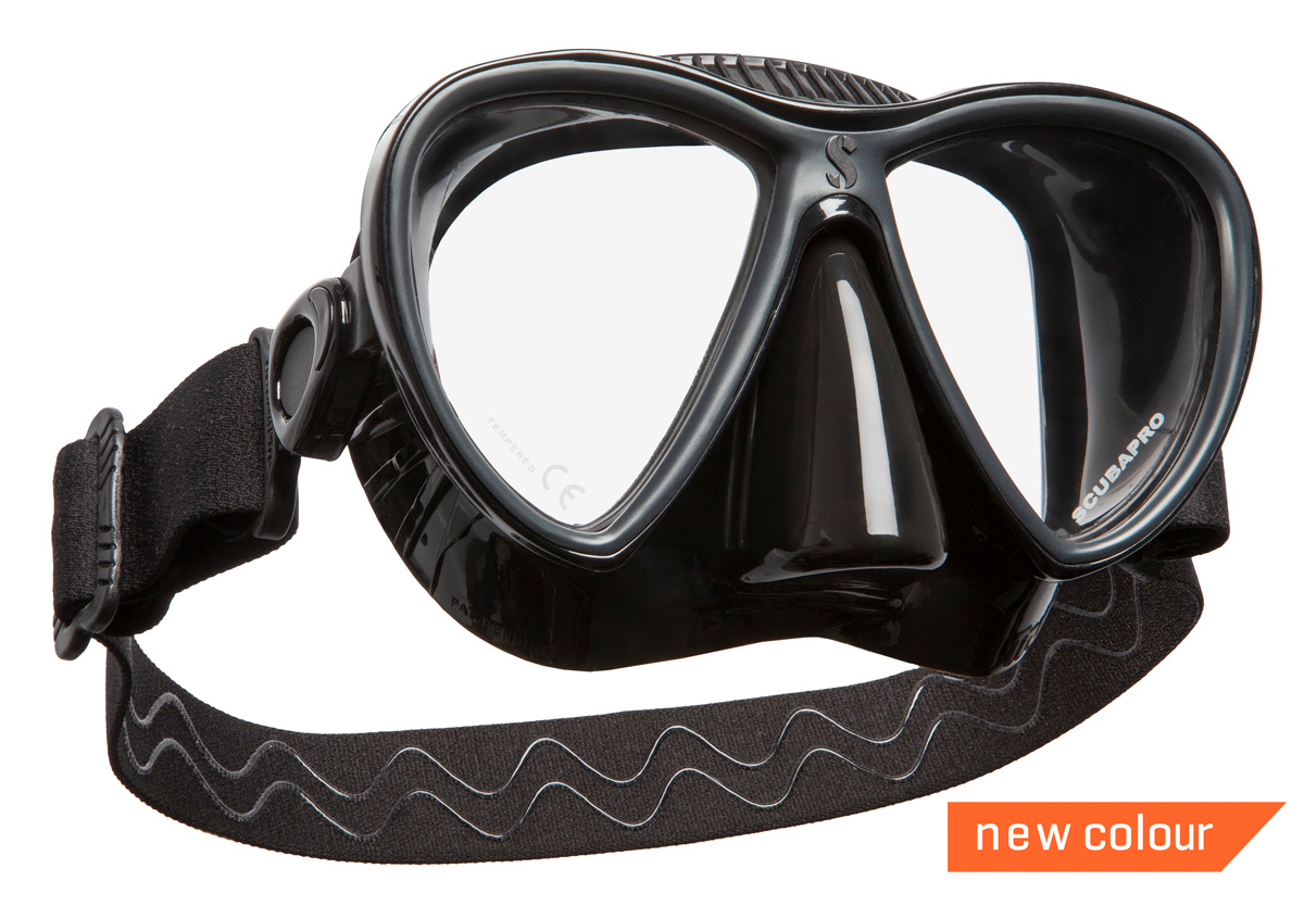 Scubapro Synergy Twin Duikmasker - Full Black