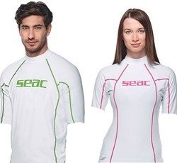 Seac Rash Guard T-Sun Short White