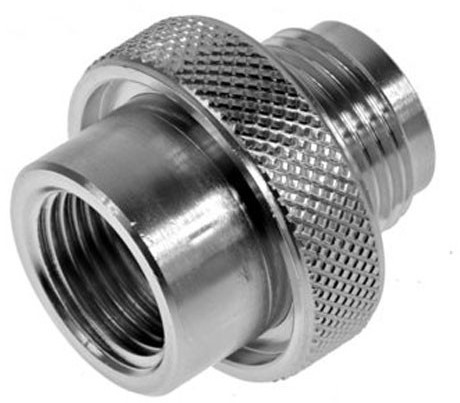 Tecline Adapter Male G5/8 300Bar Naar Female M26X2 230Bar