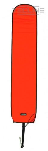 Tecline Open Boei 25 / 122cm Met Gewichten Oranje