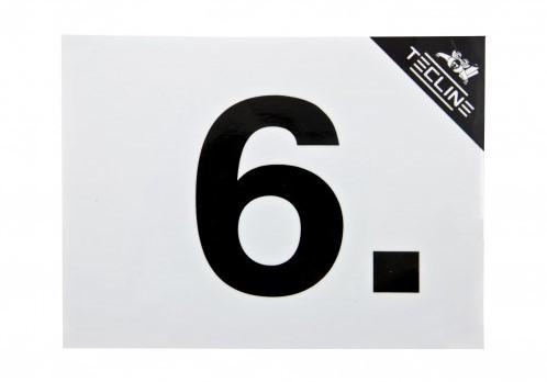 Tecline Sticker MOD6 - 16x12cm