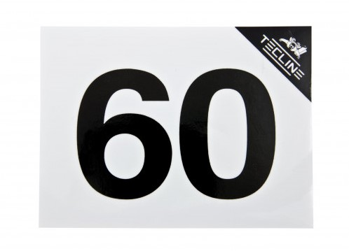 Tecline Sticker MOD60 - 16x12cm