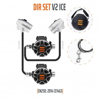 Tecline V2 Ice / Tec2 DIR Automatenset
