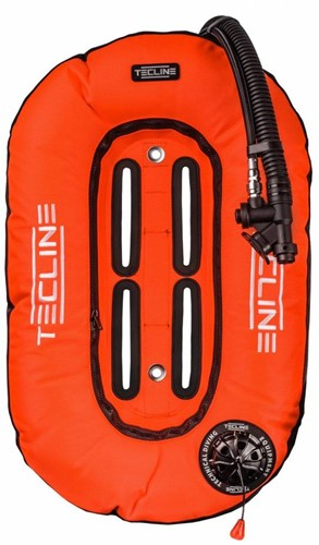 Tecline Donut 13 Orange (13kg/29lbs) for mono tank, built in mono adaptor