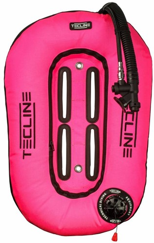 Tecline Donut 13 Pink (13kg/29lbs) for mono tank, built in mono adaptor