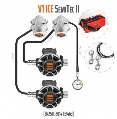 Tecline V1 Ice / Tec2 Semi Tec II Automatenset Met Manometer