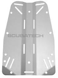Tecline Standaard Backplate Aluminium 3mm (0,85kg)