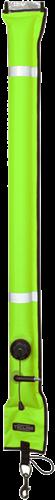 Tecline Boei 11 / 117cm Met Orale Inflator, Ontluchtingsventiel en Stalen Bolt Snap Geel