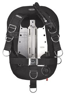 Tecline Donut 15 with Comfort harness, built in mono adapter, tank belts & BP