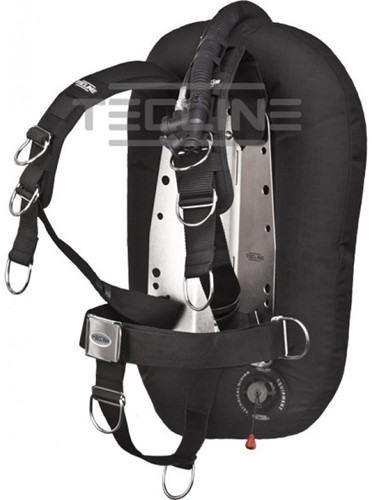 Tecline Donut 17 with Comfort harness, built in mono adapter, tank belts & BP