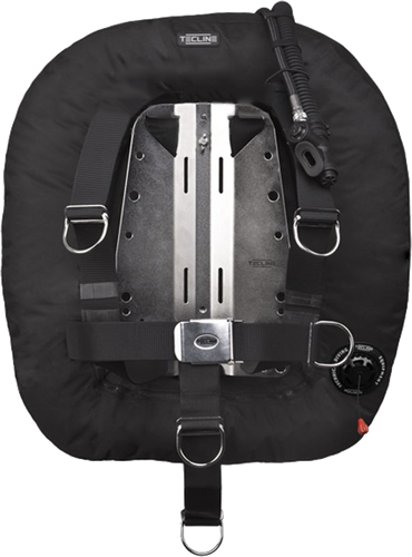 Tecline Donut 22 with adjustable DIR harness & BP