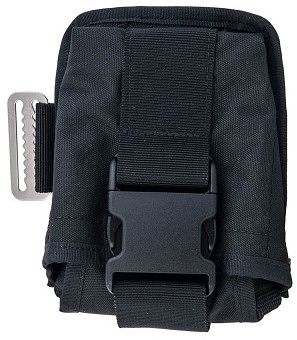 Tecline Double weight pocket soft, right, black - TecLine