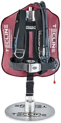 Tecline Peanut 21 Professional (21kg/46lbs) - Red Kevlar set DIR adj.